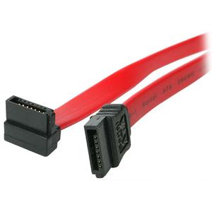 StarTech.com 46cm SATA to Right Angle SATA Serial ATA Cable - 46cm SATA Cable - 18 SATA Cable - 46cm angled SATA Cable - F
