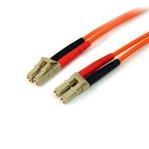StarTech.com Cable Patch de Fibra Duplex Multimodo 50/125 3m LC - LC - Extremo prinicpal: 2 x LC Macho Red - Extremo Secun
