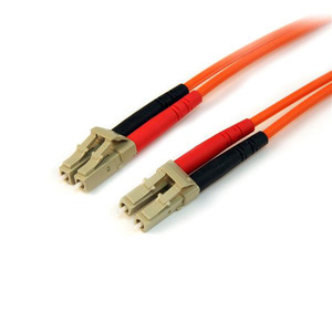 StarTech.com 1m Fiber Optic Cable - Multimode Duplex 50/125 - LSZH - LC/LC - OM2 - LC to LC Fiber Patch Cable - First End: