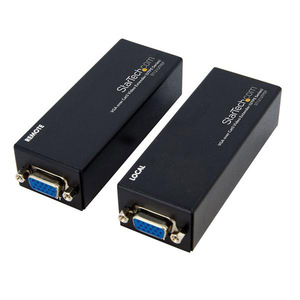 StarTech.com VGA Over CAT5 Extender - 250 ft (80m) - 1 Local and 1 Remote Unit - VGA Video Over Ethernet Extender Kit (ST1