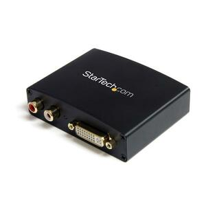 StarTech.com DVI to HDMI Video Converter with Audio - Functions: Signal Conversion, Audio Capturing - 1920 x 1080HDMIDVI -