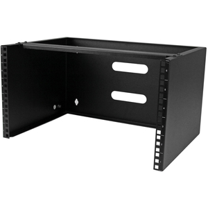 StarTech.com 6U 14in Deep Wallmounting Bracket for Patch Panel - Mount networking equipment and shallow rackmount devices