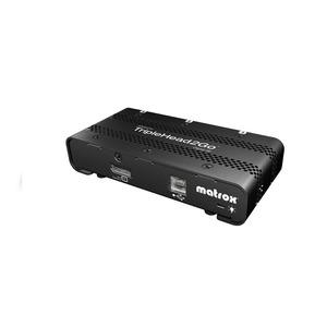 Matrox TripleHead2Go Multiview Device - External - Functions: MultiView - DisplayPort - 1920 x 1080DVI - DisplayPort - USB