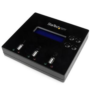 StarTech.com Duplicatore e eraser di unità Flash USB 2.0 indipendente 1:2 - Funzione di copia di unità Flash