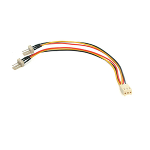 """StarTech.com 6in TX3 Fan Power Splitter Cable - 6"""" - TX3 - TX3"""