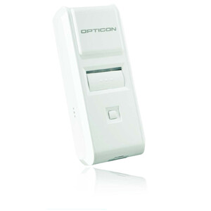 Opticon OPN-4000i Handheld Barcode Scanner - Wireless Connectivity - White - USB Cable Included - 1D - CCD - Bluetooth