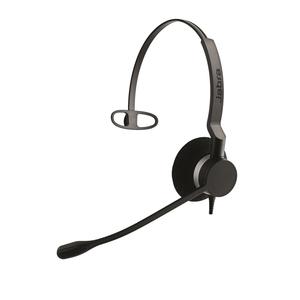 Cuffie Jabra BIZ 2300 QD Cavo Over-the-head Mono - Monoaurale - Supra-aural - Cancellazione del rumore Microfono - Quick D
