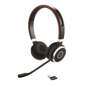 Cuffie Jabra EVOLVE 65 UC Wireless Over-the-head Stereo - Binaural - Supra-aural - 3000 cm - Bluetooth - 70 Hz a 20 kHz -