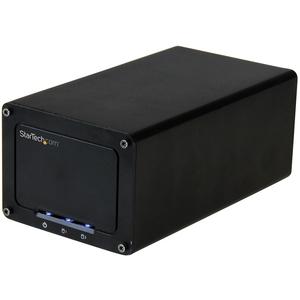 """StarTech.com BOX Esterno a doppio alloggiamento Disco rigido da 2,5"""" - USB 3.1 (10Gbps) a SATA - USB 3.1 (Gen 2) - Serial"""
