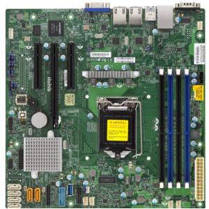 X11SSL-F C232 DDR4 MATX VGA 2XGBE 6XSATA IPMI RETAIL