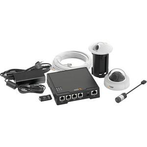 AXIS Surveillance Kit - PVC, Zinc, Plastic - White