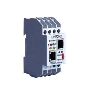 Lantronix XPress DR-IAP Device Server - 1 x Network (RJ-45) - 1 x Serial Port - Fast Ethernet - Rail-mountable