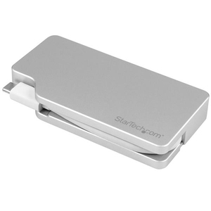 StarTech.com USB C Multiport Video Adapter 4K/1080p - USB Type C to HDMI, VGA, DVI or Mini DisplayPort Monitor Adapter - S