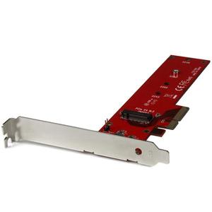 StarTech.com M.2 Adapter - x4 PCIe 3.0 NVMe - Low Profile and Full Profile - SSD PCIE M.2 Adapter - M2 SSD - PCI Express SSD