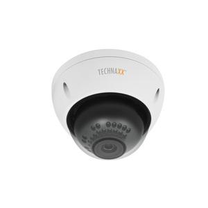 Technaxx TX-66 3 Megapixel HD Network Camera - Colour - Dome - 30 m - MJPEG, H.264, H.264H, H.264B - 1920 x 1080 Fixed Len