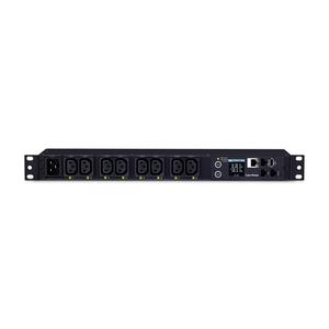 CyberPower PDU81005 8-Outlet PDU - IEC 60320 C20 - 8 x IEC 60320 C13 - 120 V AC, 230 V AC - Network (RJ-45) - 1U - Rack-mo
