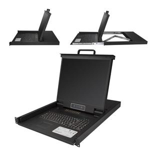 StarTech.com Consola para Armario Rack con KVM de 16 Puertos VGA y Pantalla de 19 Pulgadas - 1U - 16 Ordenador(es) - 48,3