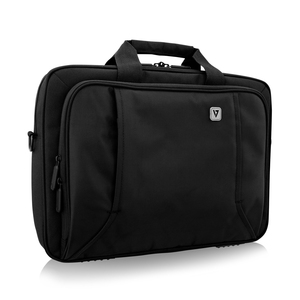 "V7 PROFESSIONAL CTP16-BLK-9E Carrying Case for 39.6 cm (15.6"") Notebook - Black - Weather Resistant - Handle"