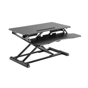 V7 DT2SSB-1E Multipurpose Desktop Riser - 15 kg Load Capacity - 50 cm Height x 61.5 cm Width - Desktop - Steel, Medium Den