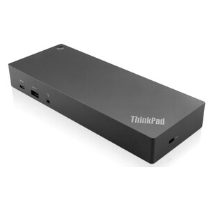 Lenovo ThinkPad Hybrid USB-C with USB-A Dock - for Notebook - 135 W - USB Type C - 6 x USB Ports - 2 x USB 2.0 - Network (