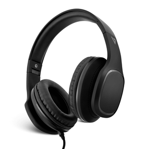 V7 HA701-3EP Wired Over-the-head Stereo Headset - Black - Binaural - 32 Ohm - 20 Hz to 20 kHz - 180 cm Cable - Noise Cance