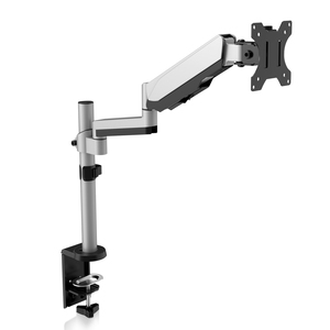 "V7 DM1TA-1E Desk Mount for Monitor - Silver - 1 Display(s) Supported81.3 cm (32"") Screen Support - 8 kg Load Capacity"