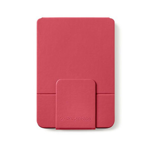 Kobo SleepCover Carrying Case (Flip) Digital Text Reader - Red - Dust Resistant, Scratch Resistant - PU Leather Cover