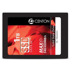 "Centon 1 TB Solid State Drive - 2.5"" Internal - SATA (SATA/600) - 540 MB/s Maximum Read Transfer Rate - 5 Year Warranty"