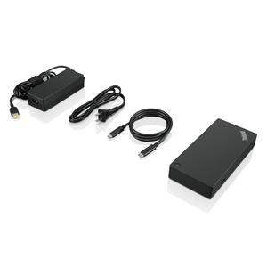 Lenovo ThinkPad USB-C Dock Gen 2 - for Notebook - 60 W - USB Type C - 5 x USB Ports - 2 x USB 2.0 - USB Type-C - Network (