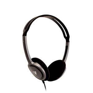 V7 HA310-2EP Wired Over-the-head Stereo Headphone - Black - Supra-aural - 32 Ohm - 1.80 m Cable - Mini-phone (3.5mm)
