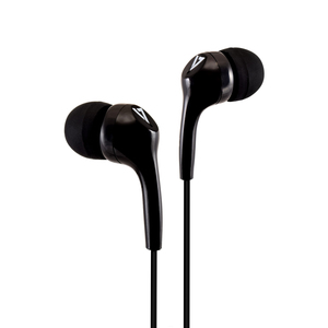 V7 HA105-3EB Wired Earbud Stereo Earphone - Black - In-ear - 32 Ohm - 20 Hz to 20 kHz - 1.20 m Cable - Mini-phone (3.5mm)