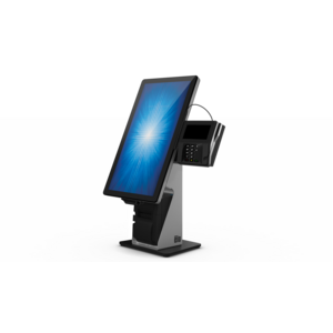"""Elo Wallaby Display Stand - Up to 55.9 cm (22"""") Screen Support29.5 cm Width x 23.1 cm Depth - Black, Silver"""