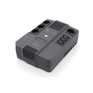 Digitus Line-interactive UPS - 600 VA/360 W - Tower/Wall Mountable - AVR - 8 Hour Recharge - 230 V AC Input - 3 x IEC 6032