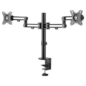 StarTech.com Desk Mount Dual Monitor Arm - Ergonomic VESA Compatible Mount for up to 32 inch Displays - Desk / C-Clamp - A