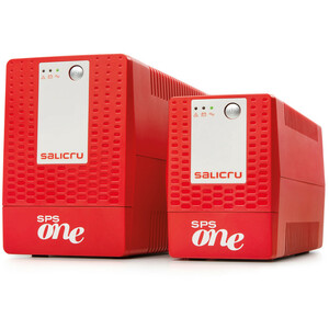 SAI de línea interactiva Salicru SPS ONE SPS 1100 ONE - 1,10 kVA/600 W - Torre - AVR - 6 Hora(s) Tiempo de Recarga de Bate