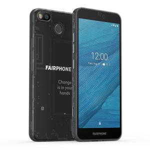 "Fairphone 3 64 GB Smartphone - 14.4 cm (5.7"") LCD Full HD Plus 2160 x 1080 - 4 GB RAM - Android 9.0 Pie - 4G - Black - Bar"