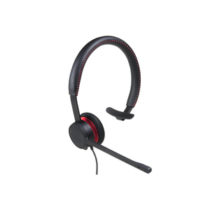 Avaya L129 Wired Over-the-head Mono Headset - Monaural - Supra-aural - 120 cm Cable - Noise Reduction, Noise Cancelling Mi