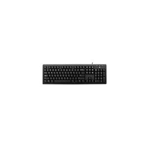 V7 KU200 Keyboard - Cable Connectivity - USB Interface - German - QWERTZ Layout - Black - Internet, Email, Volume Control,