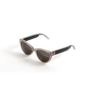 Fauna Fabula Smart Glasses - Ear Wearable - Crystal, Brown - Music Player - Bluetooth - Bluetooth 5.0 - 20 Hour - Music, C