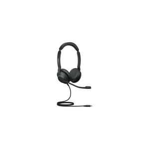 Cuffie Jabra Evolve2 30 Cavo On-ear Stereo - Nero - Binaural - Ear-cup - 20 Hz a 20 kHz - 150 cm Cavo - Tecnologia MEMS Mi