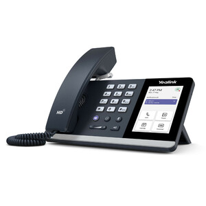Yealink MP54 IP Phone - Corded - Corded - Desktop - Classic Gray - VoIP - 2 x Network (RJ-45) - PoE Ports