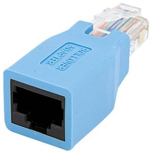 StarTech.com Adaptador Rollover/Consola Cisco para Cable RJ45 Ethernet M/H - 1 x RJ-45 Hembra Network - 1 x RJ-45 Macho Ne