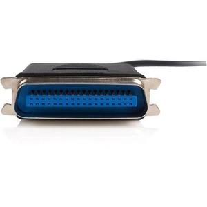 StarTech.com 3m (10 ft.) USB to Parallel Printer Adapter - M/M - USB to ieee 1284 - USB to centronics - USB to Parallel Ca