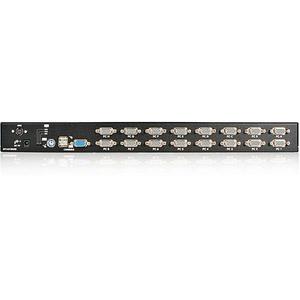 StarTech.com Switch KVM USB PS/2 a 16 porte montabile a rack 1U, con OSD - 16 Computer - 1 Utente Locale - 1920 x 1440Port