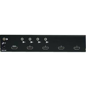 StarTech.com HDMI Splitter 1 In 4 Out - 1080p - 4 Port -Mounting Brackets - 1.3 Audio - HDMI Multi Port - HDMI Audio Split