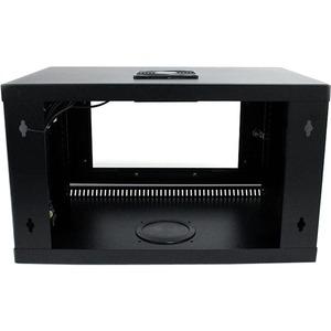 StarTech.com 6U 48cm Wallmount Server Rack Cabinet with Acrylic Door - 19'' 6U Wall Mounted