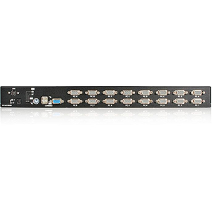 StarTech.com 16 Port 1U Rackmount USB PS/2 KVM Switch with OSD - 16 Computer(s) - 1 Local User(s) - 1920 x 1440PS/2 Port -