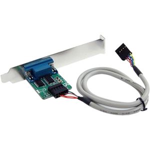 StarTech.com 24in Internal USB Motherboard Header to Serial RS232 Adapter - DB-9 Male Serial - IDC Female IDE, USB