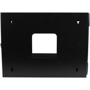 """StarTech.com Server rack 6U a giorno per montaggio a parete con cerniera 22"""" - 49,90 kg Capacità massima di peso"""