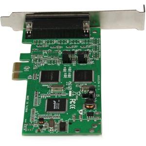 StarTech.com Scheda combo seriale PCIe 4 porte PCI Express - 2 x RS232 2 x RS422 / RS485 - PCI Express x1 - 4 x DB-9 RS-23